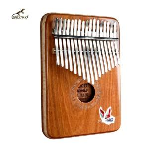 17 keys Thumb Piano Gecko Musical Instrument factory   GECKO