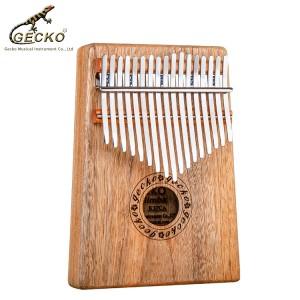 Gecko K17CA 17 клавиш Африка Калимба Пианино для большого пальца Камфорвуд Калимба Мбира Калимба Санза |  GECKO