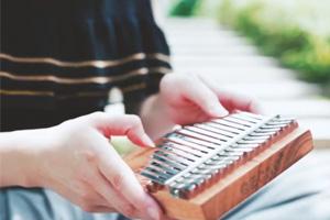 Scarborough Fair—GECKO Kalimba & Harp version Relaxing music for sleeping, Peaceful music