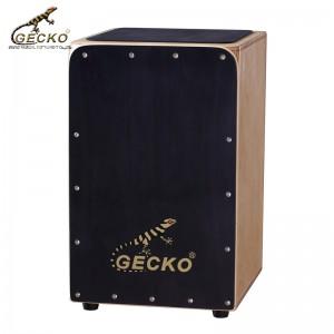 Gecko CL19BK birchwood Wooden drum box | GECKO