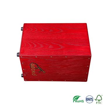 African precussion musical instrument cajon box drum