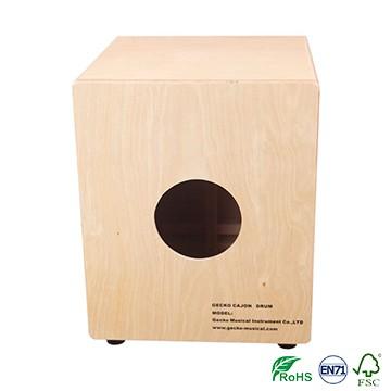 Supply OEM Drum Major Stick - Ash Wood GECKO mini Tapping cajon for kindergarten – GECKO