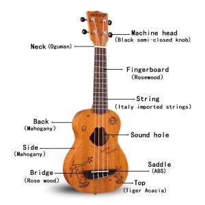 Best soprano ukulele, Cheap High Grade Concert Professional Soprano Ukulele | GECKO