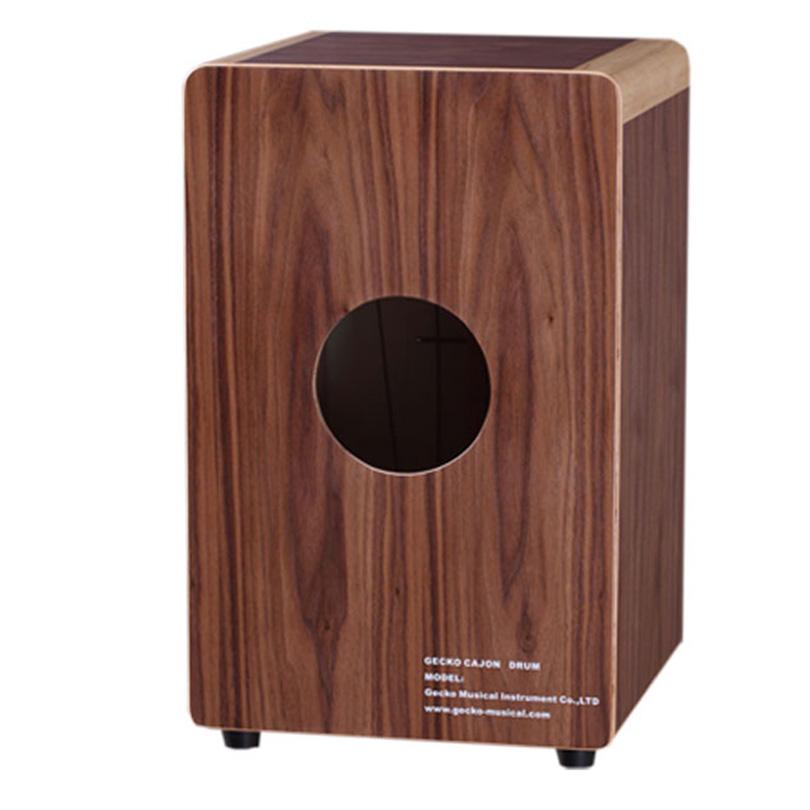birch / walnut wood hand box drum Matt Finished cajon box drum set