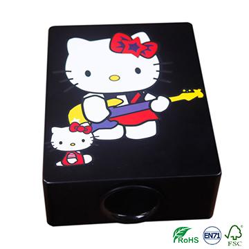 black GECKO travel pad cajon for portable,light weight