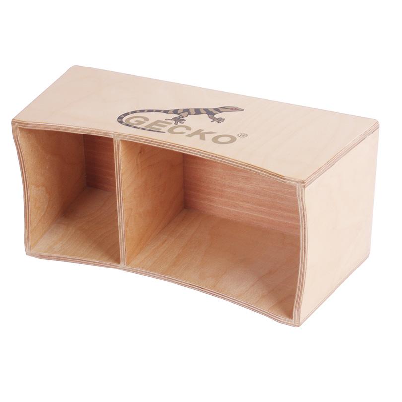 Bottom price Travel Cajon Drum For Outdoor Playing - Bongo Cajon Drum box portable carrying easily – GECKO