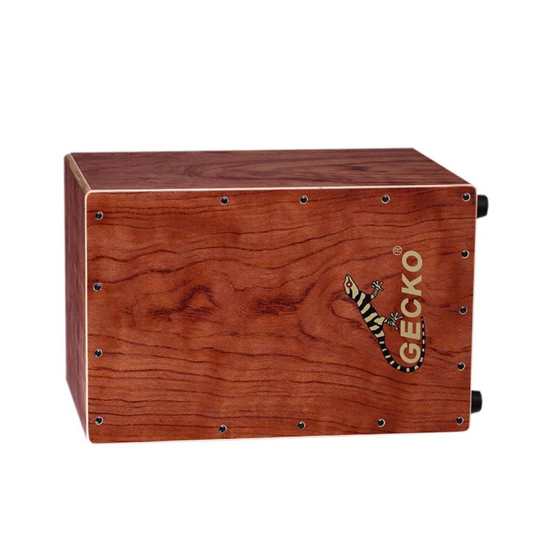 Bubinga wooden,Handmade Cajon Percussion Box Hand Drum Natural / Wooden Drum set