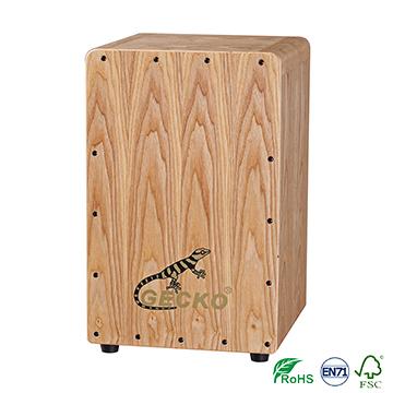 Chanson Music box-shaped musical instrument playing box drums, ash wood cajon gecko brand drums