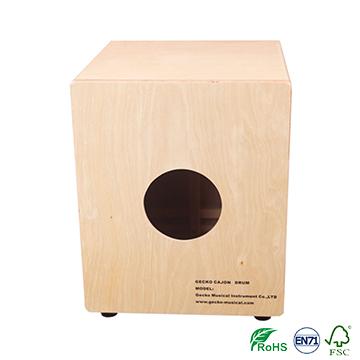 Chanson Music box-shaped musical instrument playing box drums, birch wood cajon