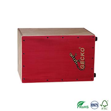 Wholesale Discount Double Guitar Case - Chinese Cajon, Burl Cajon,birch wood drum box percussion – GECKO
