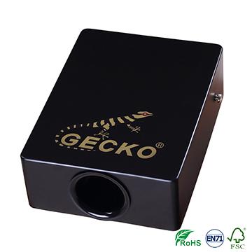 gecko box cajon drum, portable travel cajon