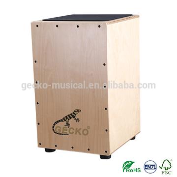 Popular Design for Solid Oak Drum Stick - gecko cajon natural wooden steel string CL14 cajon – GECKO