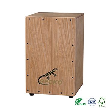 gecko Chanson Music box-shaped musical instrument playing box drums, ash wood cajon