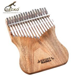 B tone Gecko K17CAP Factory supply Amazon best seller Africa Thumb Piano  |  GECKO