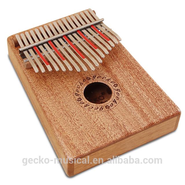 Wholesale Price Mahogany Wood 17 Notes Kalimba - gecko natural wood professional 17 keys kalimba – GECKO Featured Image