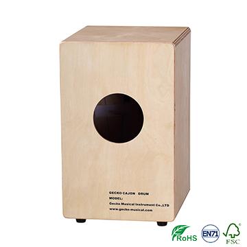 gecko wooden small cajon for kid