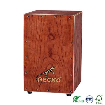 gecko wooden snare drum