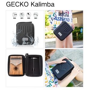 Gecko K17CA 17 keys Africa Kalimba Thumb Piano Camphorwood  Kalimba Mbira Kalimba Sanza   GECKO