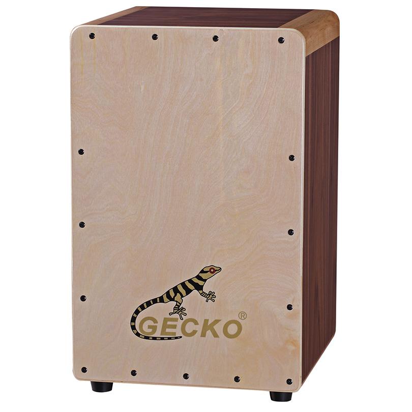 Handmade Cajon Percussion Box Hand Drum box Natural gecko brand percussion