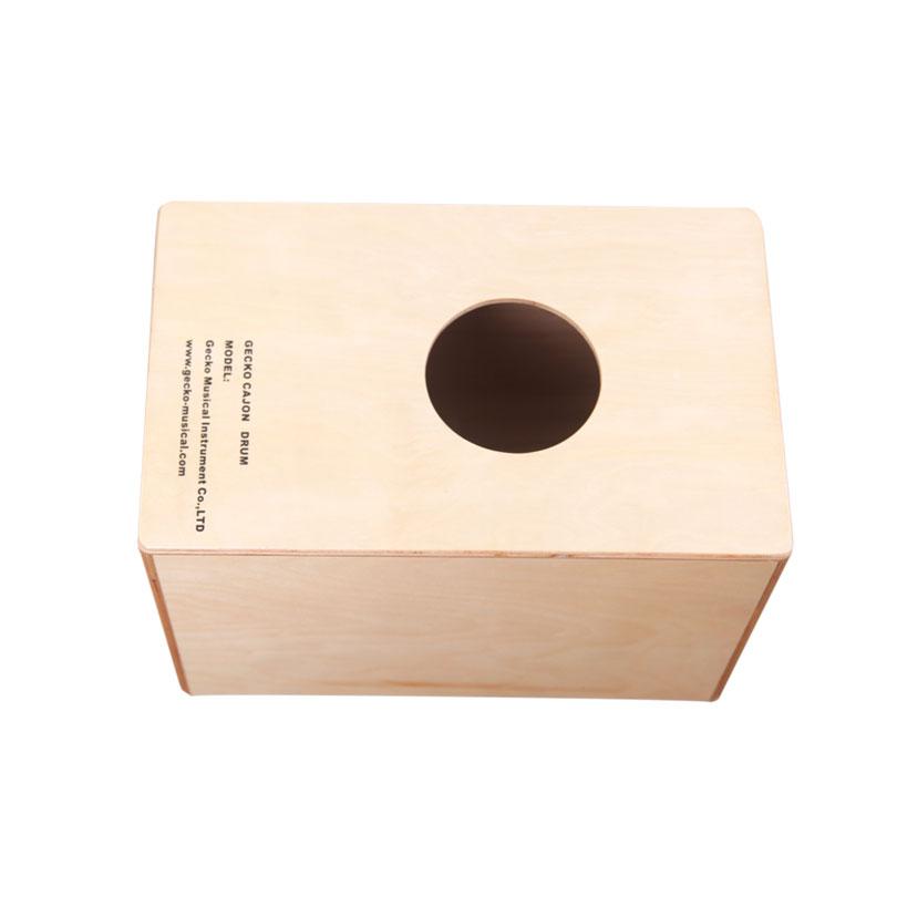 Handmade Cajon Percussion Box Hand Drum Natural / Wooden Drum,star drawing