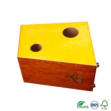 Handmade Cajon Percussion Box Hand Pedal Drum Natural,deep base,drum lugs for sales