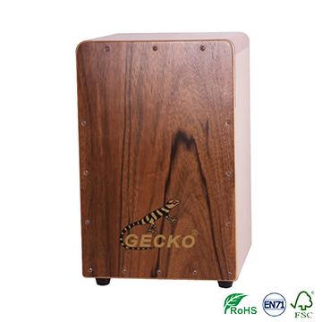 2018 Latest Design Music Instrument Shaker - Handmade Cajon Percussion Box Hand Pedal Natural drum set – GECKO