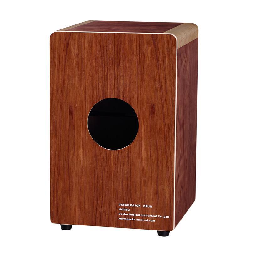high class cajon standard box size for adult,birch binding,China jazz music percussion drum set