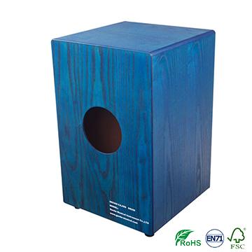 High end series ash wood Cajon drum