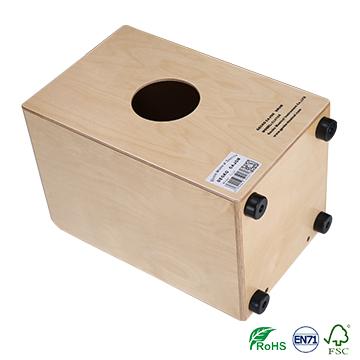 Imported steel string latin wood box cajon