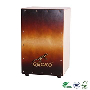 Manufacturer cajon box drum GECKO classic stye