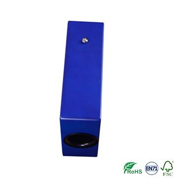 mini cajon drum box hand for pad travel,blue cartoon style