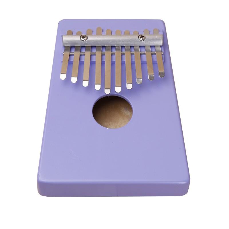 Natural 10 Keys Identified Kalimba Mbira Thumb Piano Traditional African Musical Instrument Portable Birch wood
