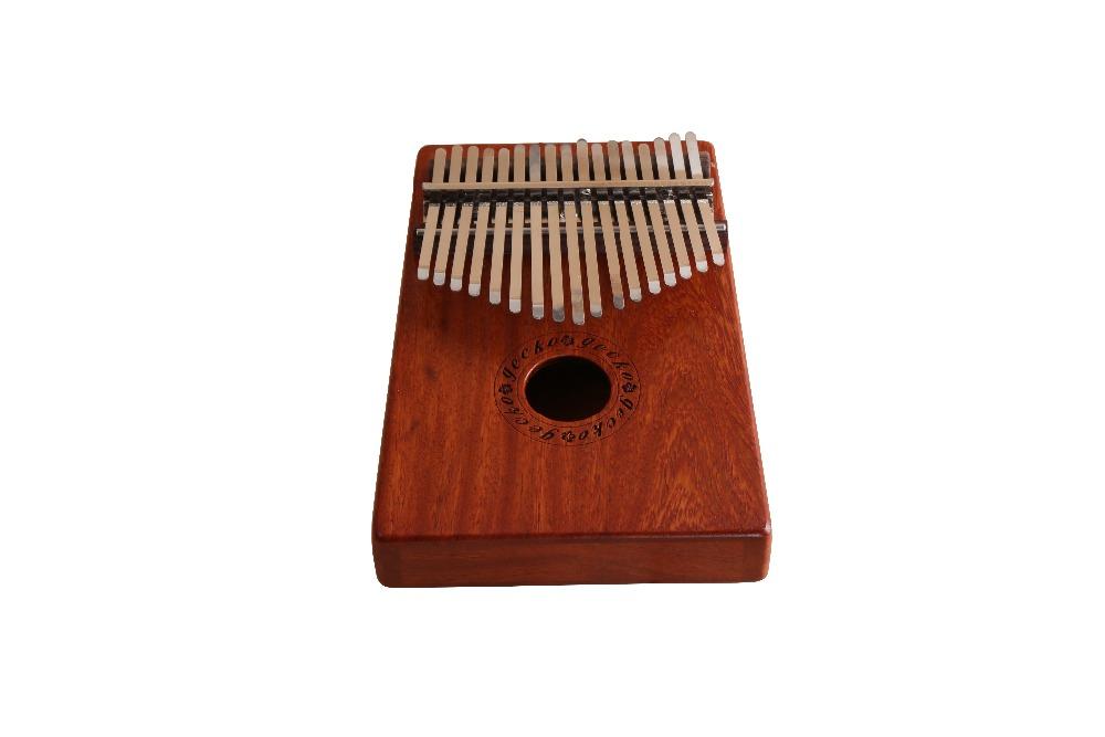 One of Hottest for Wholesale Kalimba - Natural 17 Keys Kalimba Mbira Thumb Piano Traditional Musical Instrument Portable rosewood/bubinga – GECKO