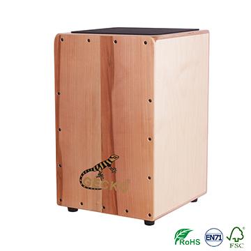 Factory made hot-sale Metal Electric Guitar Knob - New design cajon drum with apple wood in GECKO BRAND cajon – GECKO