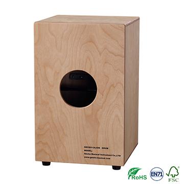 original gecko brand percussion drum/ handmade plywood cajon