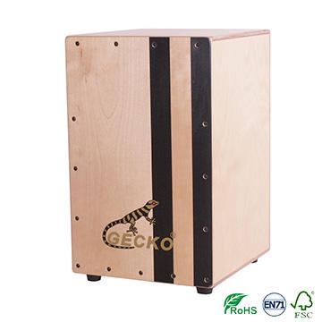 original gecko brand percussion handmade wooden drum sets /cajon drum