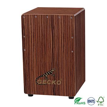100% Original Factory Fashionable Guitar Strap - percussion cajon box drum china factory,zebra wood,wholesale musical instrument – GECKO Featured Image