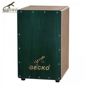 Оригинальный перкуссионный барабан марки gecko / из фанеры ручной работы Cajon |  GECKO