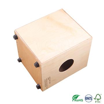 percussion musical instrument Cajon KOA top box drum