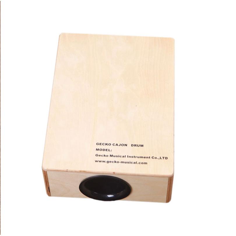 Hot New Products Electric Black Guitar Capo - Plywood travelling cajon mini set box – GECKO
