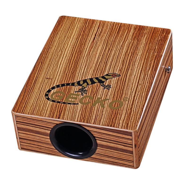 Small Percussion Wood Cajon drum box