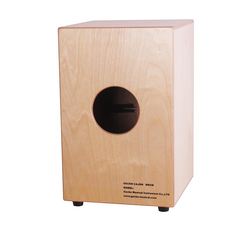 Well-designed Wholesale Printed Drum Stick - sunburst color adult size cajon drum box pad drum – GECKO