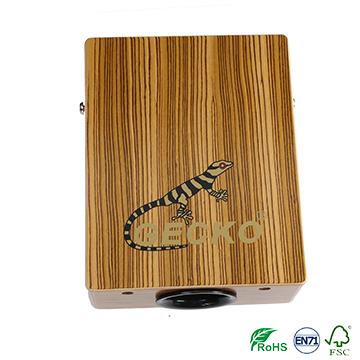 Travelling cajon, easy take zebra wooden cajon percussion drum
