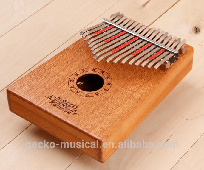 Wholesale 17 keys African sansu, zanzu, karimbao, marimba made in China