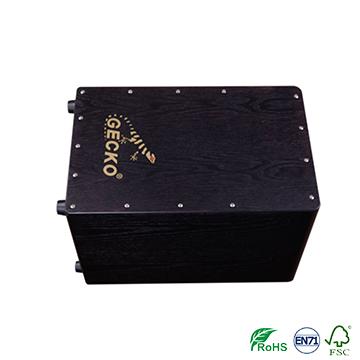 China New Product Hot Sale Kalimba - Wholesale Full Ash wood cajon Black Color CL20B – GECKO