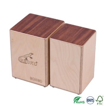 OEM Supply Lcd Digital Violin Tuner - wooden bongo – GECKO Featured Image